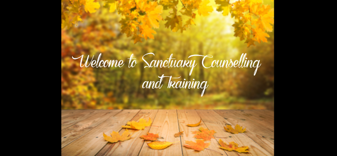 Welcome to Sanctuary Counselling and Training